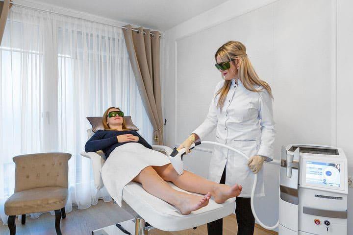 Laser Haarentfernung Wien - Beine lasern