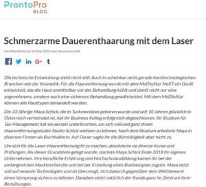 Experte für Laser-Haarentfernung